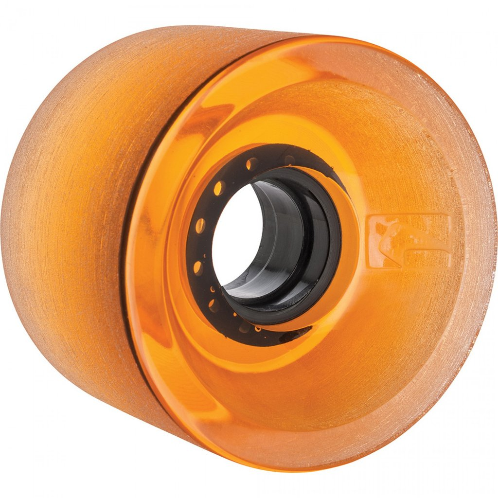Globe G-icon clear amber 70mm longboard hjul